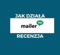 Jak działa MailerLite -recenzja